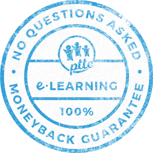 PTTC-E-Learnng-Money-Back-Guarantee-Stamp-Design